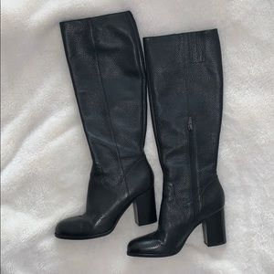 Tall genuine leather Via Spiga boots